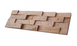 Intarzi Oak 3D Wall Panel 1m²