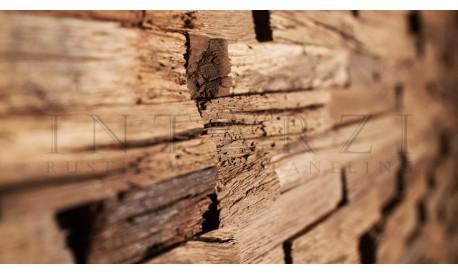 Intarzi Antique Oak Patina 3D Wall Panel 1m²