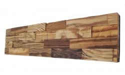 Intarzi Starožitná smreková patina 2D stenový panel 1m²