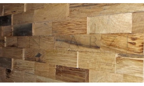 Intarzi Antique Oak 3D Wall Panel 1m²